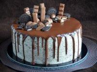 Oreo torta csurgatva