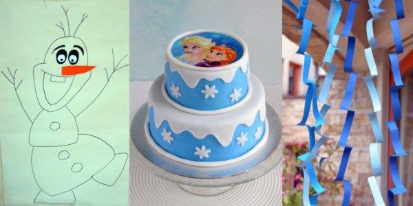 szülinapi buli otthon Jégvarázs szülinapi bulit tartottunk!   Torta, DIY dekoráció és  szülinapi buli otthon